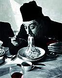 1art1 Kochkunst - Spaghetti, Rotwein, Don Camillo Poster