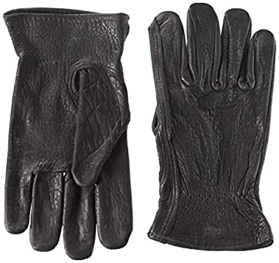 American Made Buffalo Leather Unlined Work Glove
