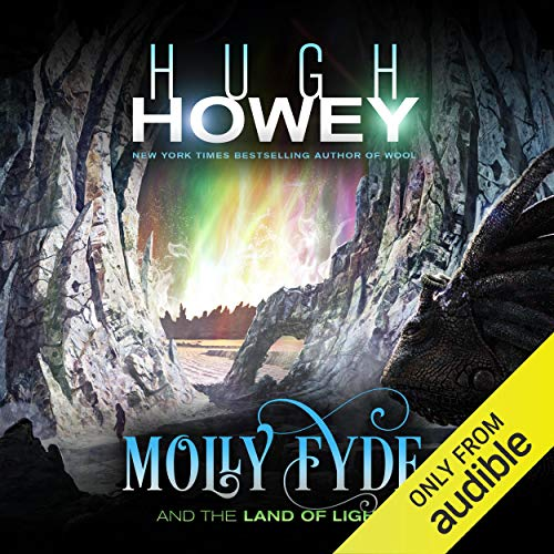 Molly Fyde and the Land of Light audiobook cover art