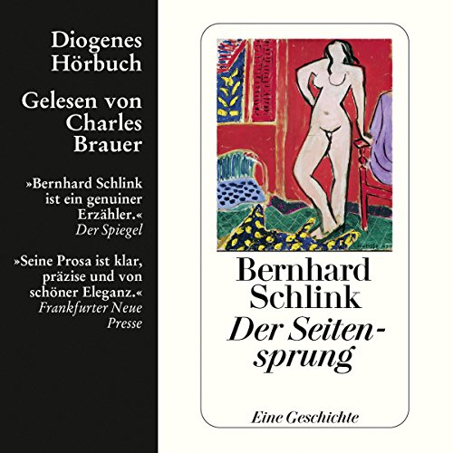 Der Seitensprung                   By:                                                                                                                                 Bernhard Schlink                               Narrated by:                                                                                                                                 Charles Brauer                      Length: 1 hr and 12 mins     1 rating     Overall 3.0