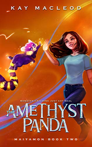 The Amethyst Panda: A Monster Catching Gamelit Adventure (Maiyamon Book 2) (English Edition)