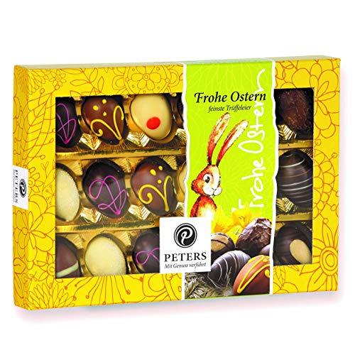 Peters Trüffel Eier - Oster Schokolade | Osterpralinen | Pralinen zum Verschenken | ideales Ostergeschenk