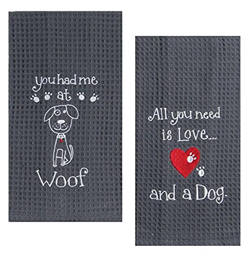 Top 10 Best Selling List for kitchen towels with dogs