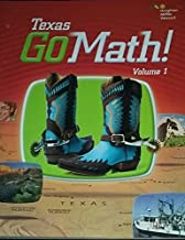 Go Math! Texas Grade 2: 1 (Houghton Mifflin Harcourt Go Math!)