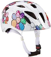 ALPINA Ximo Flash kask rowerowy, dzieci, biały kwiat, 47-51