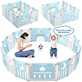 Best Baby Play Gates - Baby Playpen, Dripex 14-Panel Foldable Kids Activity Centre Review
