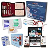 Suture Practice Kit for Medical Students. Suturing Kit Includes a...
