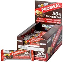 Volchem Promeal 50 Protein Bar Confezione 20 Barrette Gusto Mnadorla Estimated Price : £ 47,71