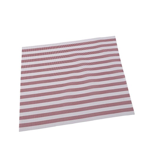 Renberg Ralla - Dessous de Plats Vinyle Rouge 30x45 cm