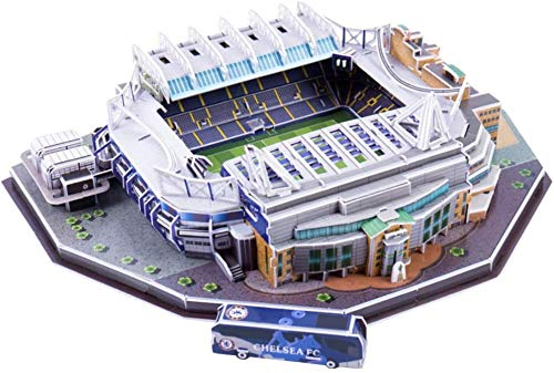 WPLHH Paper 3D Puzzles,Stamford Bridge (UK) Building Sets 3D Construction Toys Model Kits,Educational Toy for Kids and Adults,Gift for Boys and Girls