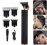 Professional Clippers pelo para hombre Cero rapado Trimmer cuchilla T Clippers cabello inalámbricos recargables Kit aseo del corte la barba Para hombres mujeres y niños