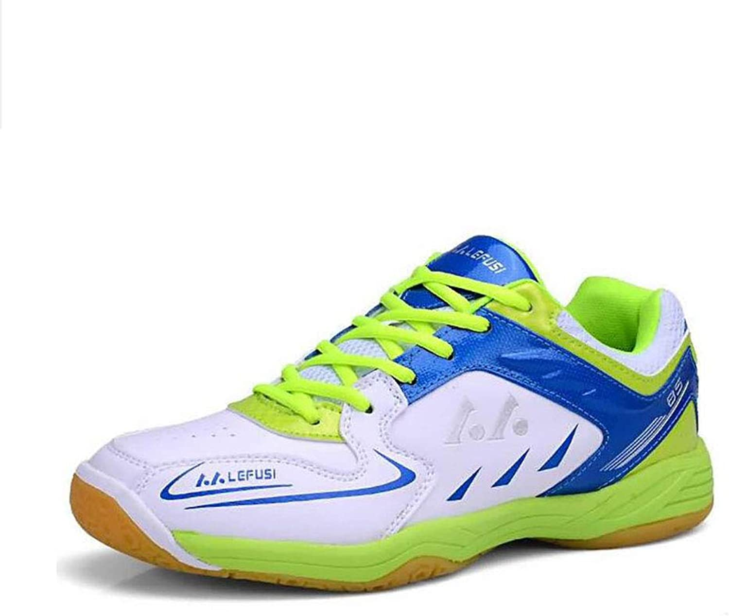 Y-H Men's shoes Spring Fall Artificial PU Running shoes Badminton shoes Cycling shoes Wearable Sneakers Bike Anti-Slip, Anti-Shake Sneakers Hiking Damping, Ventilation (color   C, Size   45)