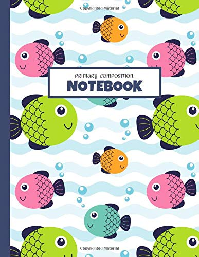 Primary Composition Notebook: Primary Story Journal: Lined Paper with Drawing Space, Grades K-2 Composition School Exercise Book