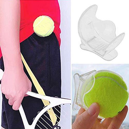 Seasons Shop Wonderfully - Clip para pelota de tenis, resistente y portátil, accesorio para pelotas de tenis, clip transparente, para hombre y mujer
