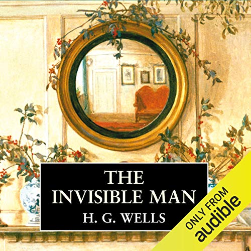 The Invisible Man audiobook cover art