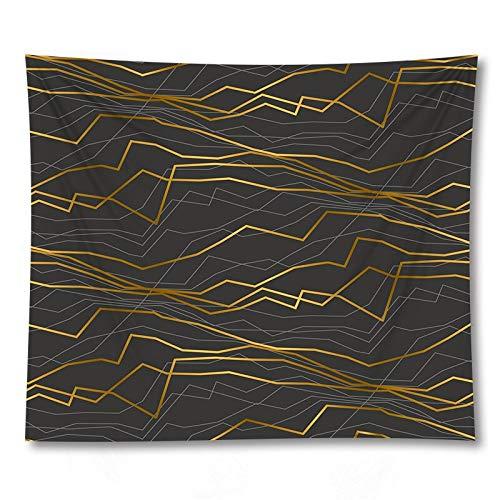 PPOU Arazzo geometrico appeso a parete coperta bohemien rombo rettangolo decorazione murale sfondo arazzo di stoffa A19 130x150 cm