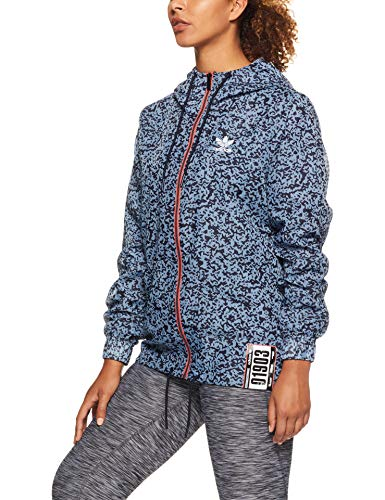 adidas Damen Active Icons Windbreaker Jacke, Multicolor, 32
