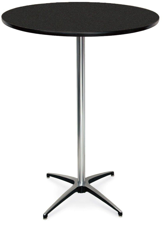 McCourt 72012HLGN Laminate Pedestal Table famous Diameter Large discharge sale 24