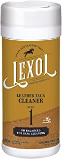 Manna Pro Lexol Leather Cleaner 25-Moistened Quick Wipes