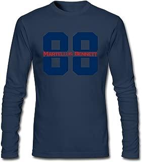 Men's Fashion Martellus Bennett 88 Long Sleeve Tees Shirt