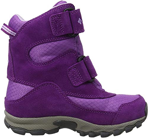 COLUMBIA Mädchen Multisportschuhe, Wasserdicht, CHILDRENS PARKERS PEAK BOOT, Violett (Crown Jewel, Phantom Purple), 28