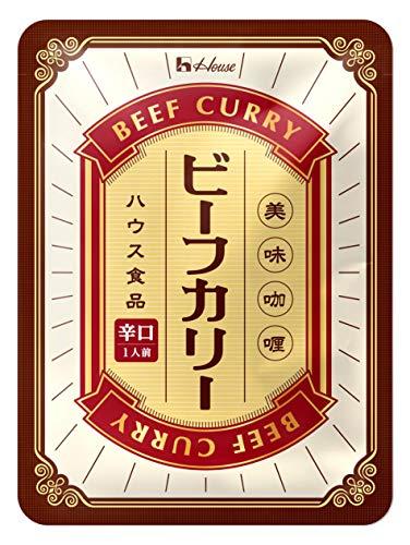 ハウス食品 ビーフカリー 辛口 200g ×10個