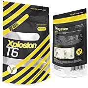Simply Simple T6 Xplosion Fat Burners with Added Vitamin D, Choline & Vitamin B6   Vegetarian Friendly Slimming Pills for Weight Loss with Approved EFSA Health Claims