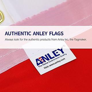 سعر Anley Fly Breeze 3x5 Foot American US Flag - Vivid Color and UV Fade Resistant - Canvas Header and Double Stitched - USA Flags Polyester with Brass Grommets 3 X 5 Ft