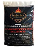Lumber Jack Competition Blend Maple-Hickory-Cherry BBQ Grilling Pellets – 20 lbs.