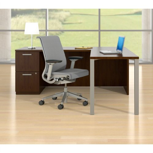 Steelcase Think Chair, Blue Fabric