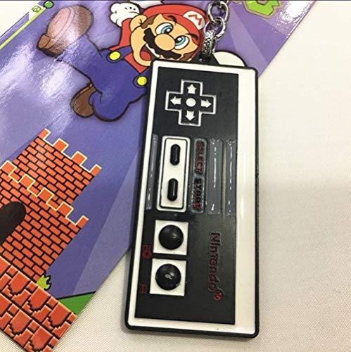 VYZSD 1 STÜCKE Zink-Legierung Videospiel Griff Schlüsselbund Kreative Joystick Modell Schlüsselanhänger Schlüsselanhänger Für Freund Männer Schlüsselhalter Schmuckstück Geschenk, C, 8 cm