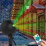 Christmas Lights Projector Laser Light Xmas Spotlight Projectors Waterproof...