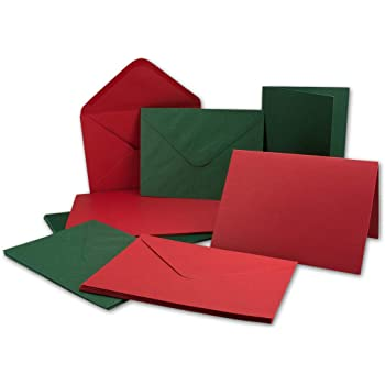 confezione da 50 114 x 162 mm colore: rosso papavero The Packaging Group 100 g//mq Buste da lettera formato C6
