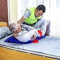 Love life 担架 折りたたみ 布担架介護用 歩行障害者 老人 楽々 移動 防災および救援 階段を上り下り および近距離の安全な移動 通気性 軽量 (ブルー)