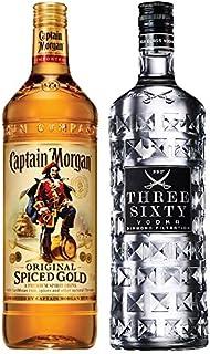 Captain Morgan Spiced Gold Jamaika 3,0 Liter  Three Sixty Vodka 3,0 Liter