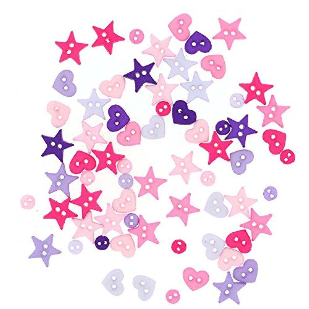 Dress It Up Buttons 8991 Shapes Princess Mix, Micro Mini