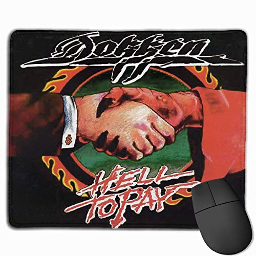 Dokken Mouse Pad Non Slip Laptop Computer Gaming Desk Mousepad for Office Home`A6