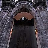 Joyjoz Decorazioni da Appendere Fantasma di Halloween, Spaventosi Puntelli di Fantasmi Volanti con Maschera Scheletro per Decorazioni per Interni/Esterni