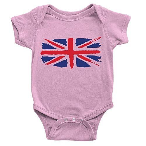 Lplpol Mono de algodón para bebé Union Jack GK940, multicolor, 6 mes