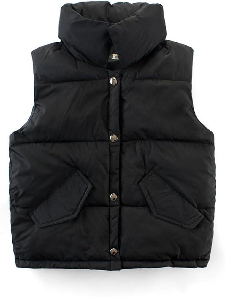 Motteecity Fashion Boys Warmer Keeper Solid Color Vest