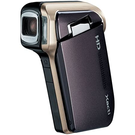 SANYO ハイビジョン デジタルムービーカメラ Xacti (ザクティ) DMX-HD700 ブラウン DMX-HD700(T)