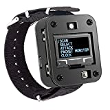 MakerFocus WiFi Test Tool ESP8266 WiFi Deauther Watch V2 DSTIKE NodeMCU ESP8266 Programmable Development Board Built in 800mAh Battery with OLED Dispaly, Wristband and 3D Printing Case