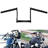 INNOGLOW Motorcycle 1' Handlebars 4 Style 26 mm Handlebar fit for Dirt Bike/Street Bike/Naked Bike/Chopper/Bobber/Cafe racer (004)