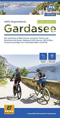 ADFC-Regionalkarte Gardasee, 1:50.000, reiß- und wetterfest, GPS-Tracks Download: Die schönsten E-Bike-Touren zwischen Trento und Peschiera del Garda. ... und MTB (ADFC-Regionalkarte 1:50000)