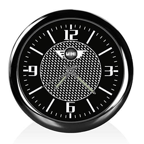 Auto Watch Outlet Dashboard Clock Clip Decoración Interior para Mini para Cooper One JCW R53 R55 R56 R60 F55 F60 Accesorios Universales