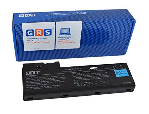 GRS Batterie pour Toshiba Satellite Pro P100, P100, P105, remplacé: PA3479U-1BRS, PA3480U-1BAS, PA3480U-1BRS, PABAS078, PABAS079, Laptop Batterie 4400mAh, 10.8V