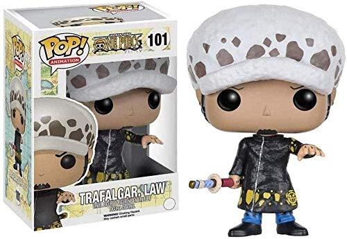 WENJZJ Pop! One Piece # 101 Law Limited Edition Figura da Collezione