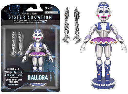 """Funko Five Nights at Freddy's Ballora Articulated Action Figure, 5"""""""