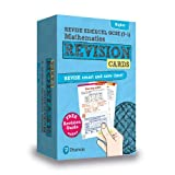 REVISE Edexcel GCSE (9-1) Mathematics Higher Revision Cards: includes FREE online Revision Guide