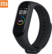 """AEE Mi Band 4 Health & Fitness Tracker Exercise Band, Heart Rate Monitor Activity Tracker, Sports Watch 0.95"""" Color AMOLED..."""